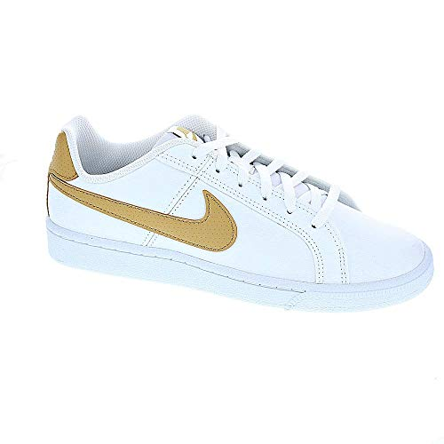 Nike Jungen Court Royale (gs) Fitnessschuhe Mehrfarbig (White/Club Gold 105) 37.5 ()
