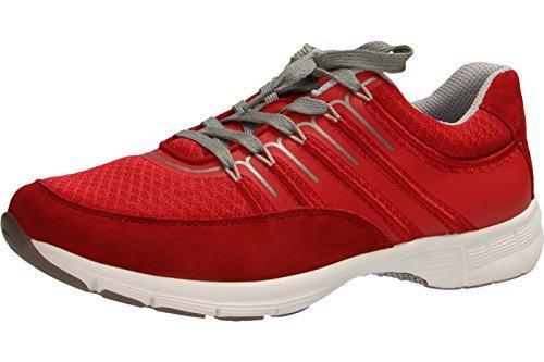 Donne Sneaker Gabor sportiva 64.352.46 nightblue 37,5 38 38,5 39 40 40,5 rot/rosso/silber