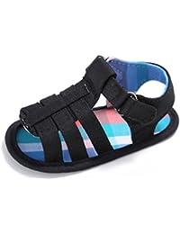 7d3374e31c97a Minuya Chaussures Bébé, Chaussures Bébé Garçon Semelle Souple Ete Sandales  Chaussures Premiers Pas ...