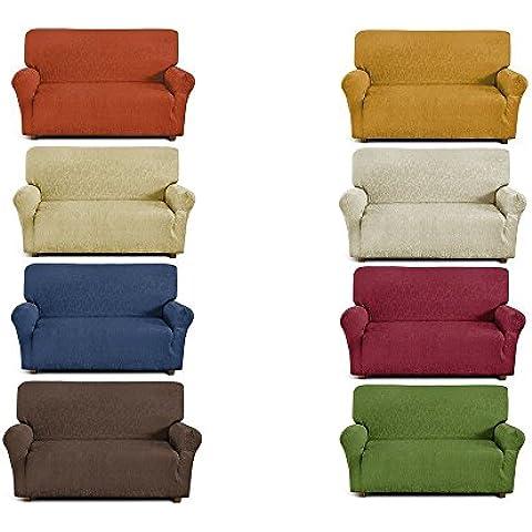 Funda de sofá de 4 plazas (de 170 cm a 280 cm) - Color Verde