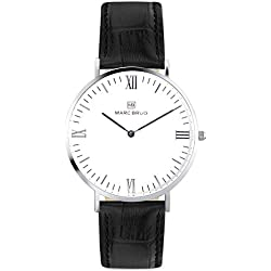 Marc Brüg Men's Minimalist Watch Broadway 41 Hygge