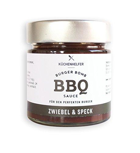 Küchenhelfer Burger Bomb BBQ-Sauce Zwiebel Speck, 2er Pack (2 x 190 ml)