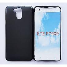 PREVOA Silicone TPU Funda Cover Case para Elephone P7000 5.5 Pulgadas Smartphone - Gris