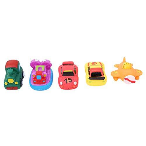 Lalang Auto BadeSpielzeug Baby Kinder BadeSpielzeug Spielzeug für Badewanne (Waschen Auto Spielzeug)