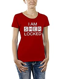 Touchlines Damen Girlie T-Shirt I AM SHER LOCKED
