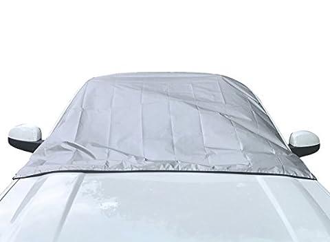 Magnetische Frontscheibenabdeckung für das Auto von Outback Shades | Sonnenschutz und Winterabdeckung für die Windschutzscheibe gegen Schnee, Eis, Frost | Universelle Größe | Autozubehör mit Garantie