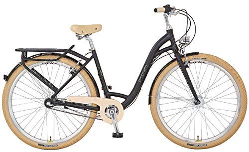 "Prophete GENIESSER 9.2 City Bike 28\"" Damen Cityfahrrad schwarz matt RH 50 cm"