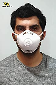 Woschmann-T95/T97 Pollution Mask With Elastic Good for Air Pollution Germs (Pack of 1)