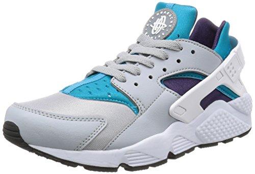 Nike 318429-024 - Chaussures de sport - Homme Blanc (Wolf Grey/White/Aqua/Purple/Black/White)