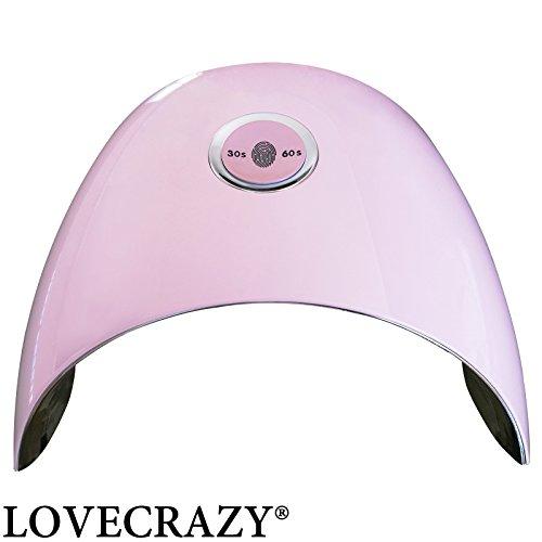 LOVECRAZY® 48W UV Lámpara Luz LED Secador Uñas