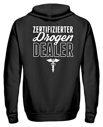 Chorchester Perfekt für Jeden Coolen Apotheker - Zip-Hoodie -XXL-Schwarz