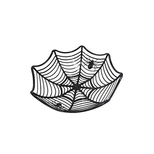 nen-Netz-Süßigkeit Basket Bowl Halloween Süßigkeiten Schalen Teller-Party Favor Supplies Tischdekoration (zufällige Farbe) ()