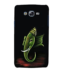 printtech Lord God Ganesha Back Case Cover for Samsung Galaxy Core i8262 / Samsung Galaxy Core i8260