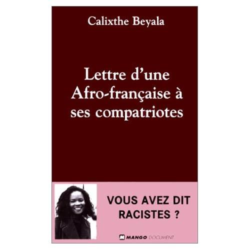 Lettre d'une Africaine française à ses compatriotes