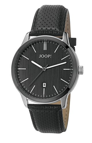 Joop! Unisex Analogue Watch with black Dial Analogue Display - JP101821001