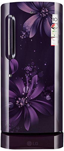 LG 215 L 3 Star Direct-Cool Single Door Refrigerator (GL-D221APAW.DPAZEBN,...
