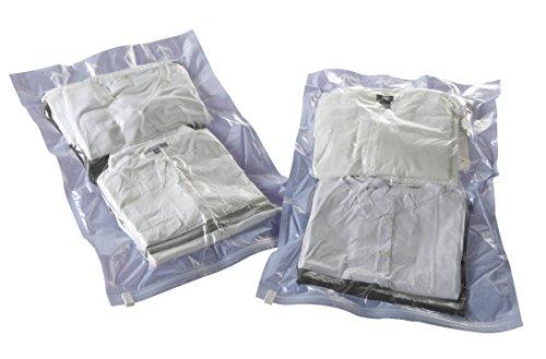 Compactor Manual Travel Space Saving Storage Bags, Medium 45 x 65cm, Set of 2