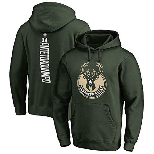 NBA Bucks 34# Antetokounmpo Basketball Hoodie Herren Hoody Sweatshirt