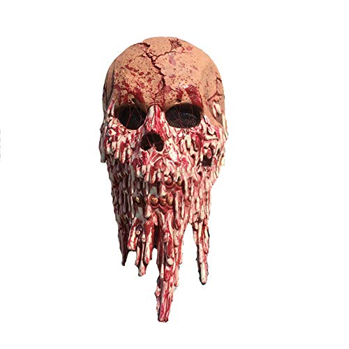 DQZ Taro Haunted House Zimmer Blood Messenger Horror Hood Maske Film Thriller Requisiten Halloween