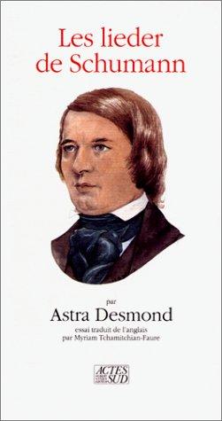 Les lieder de Schumann : Essai