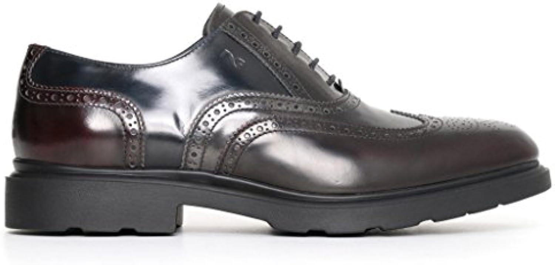 Nero Giardini Giardini Giardini uomo inglesine abrasivato bordeaux A705315U scarpe in pelle inverno 2018, eu 42   Consegna veloce    Scolaro/Ragazze Scarpa  245701