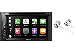 "PIONEER AVH-290BT 6.2"" Double-DIN in-Dash DVD Receiver with Bluetooth(R) & WVGA Clear-Resistive TOU"