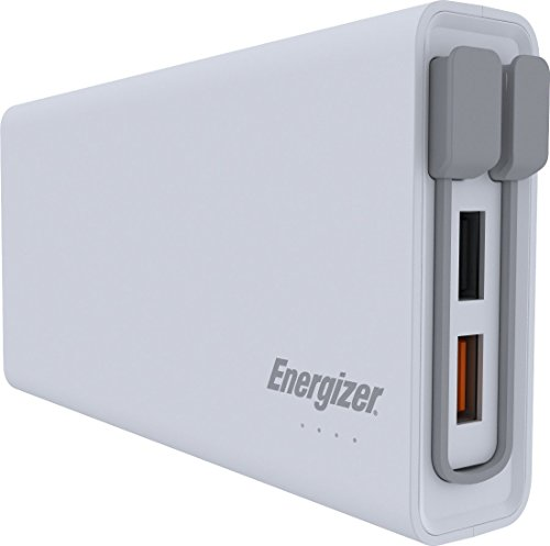 Energizer 20000mAh Quick Charge 3.0 Powerbank, externer Akku mit Qualcomm Quick Charge für iPhone XS/XS Max/XR/X/8/7, iPad, Huawei Mate 20 Pro / P20 Pro, Samsung Galaxy S9/S8 und viele mehr Energizer Portable Power