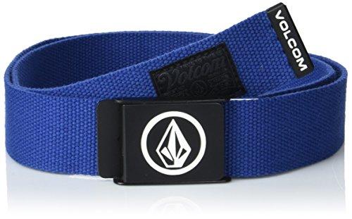 Volcom Circle Web Cinturón, Hombre, Azul Oscuro, Talla Única