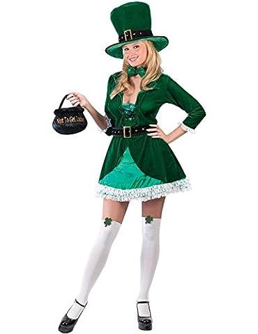 California Costumes Luscious Leprechaun Adult Costume Size Small 2-8