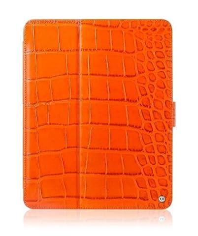 Umberto Bellini Palermo Leder-Schutzhülle mit Deckel für iPad 3 Orange