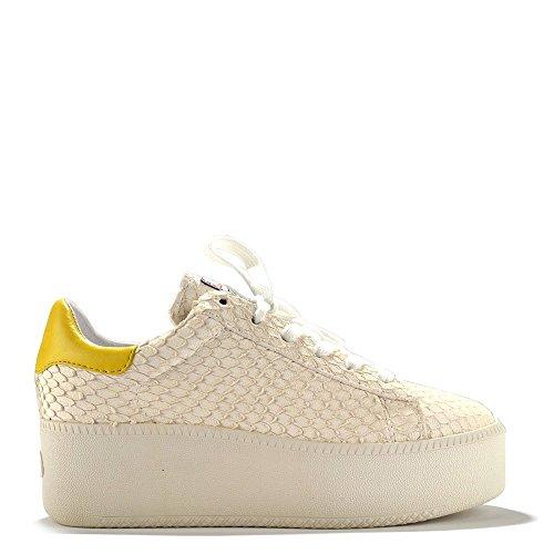 Ash Cult Baskets, Femme Jaune/Blanc