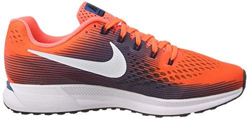 sports shoes 3f93e b77ef ... discount code for mann bleuchlorine air 34 joggesko zoom bleuindustrial  nike hyperorange sort oransje pegasus xytzz5ow