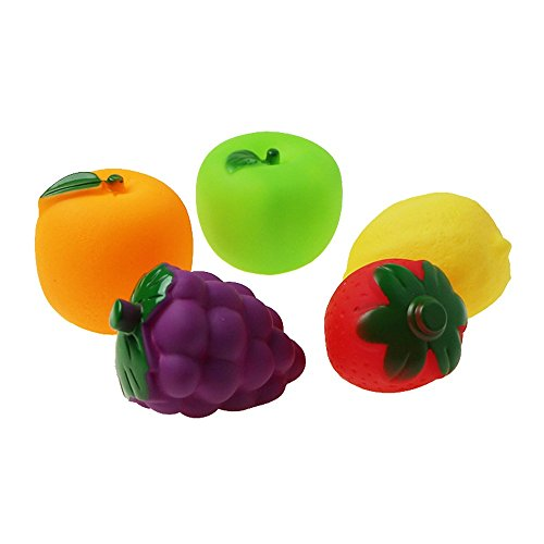 Muium Juguete de Agua Ducha Fruta Vegetal Juguete Infantil...