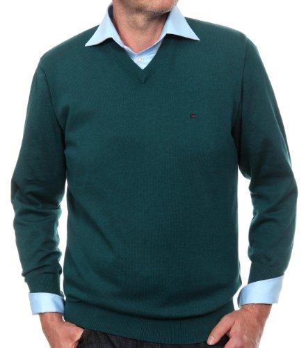 CASAMODA Herren Pullover Regular Fit 004130/334 Grün (334 grün)