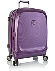 ... 50% SALE ... PREMIUM DESIGNER Hartschalen Koffer - Heys Crown Smart Gateway Lila - Trolley mit 4 Rollen Medium