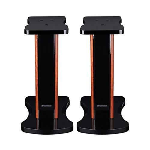 Lautsprecherständer Monitorständer Regallautsprecherständer Bühnenlautsprecherständer Computerlautsprecherständer Wohnzimmerblumenständer Lagergewicht 40kg ( Color : Black , Size : 42*27*50cm )