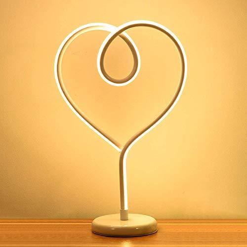 Persönlichkeit LED Dekorative Tischlampe, Schlafzimmer Schlafzimmer Wohnzimmer Arbeitszimmer Prinzessin Zimmer Kinderzimmer Aluminium Atmosphäre Lampe, Schwarz / Rot / Weiß / Gold / ()