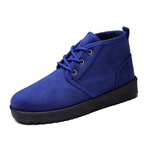 Autunno e Inverno stivali di grandi dimensioni le racchette da neve scarpe di cotone scarpe scarponi da neve blue