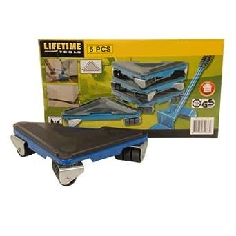 lifetime tools 34036 d place meubles roulant 5 pi ces commerce industrie science. Black Bedroom Furniture Sets. Home Design Ideas