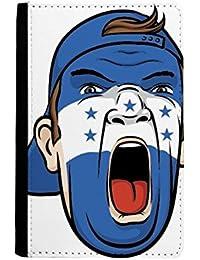 17ac75252ae87 beatChong Honduras-Flaggen-Gesichtsverfassung Maske Schreien Cap-Pass-Halter  Travel Wallet Abdeckungs