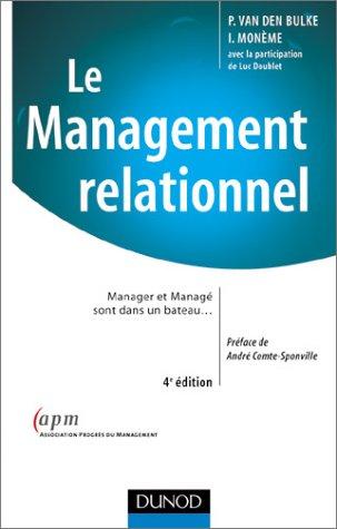 Le management relationnel : Manager et managé sont dans un bateau.