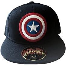 Captain America Shield Cap nuevo Oficial nuevo Azul snapback Gorra de  beisbol ce1703312a5