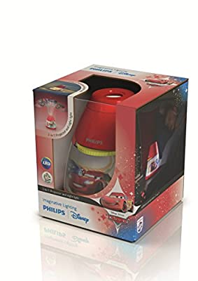 Philips Disney Cars Children's Night Light and Projector