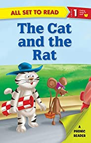 All set to Read- A Phonic Reader- The Cat and The Rat- Readers for kids