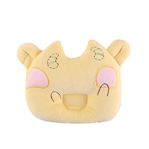 Newborn Protective Pillow Anti-Roll Prevent From Flat Head Baby Head Shaping Breathable Cotton