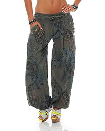 7f7ac98ba3a86 ZARMEXX dames bloomers pantalon sarouel été Pluder Aladin pantalons ...