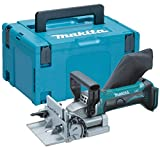 Makita DPJ180Z 18v LXT Cordless Biscuit Jointer 100mm Dowel Joint + Makpac Case