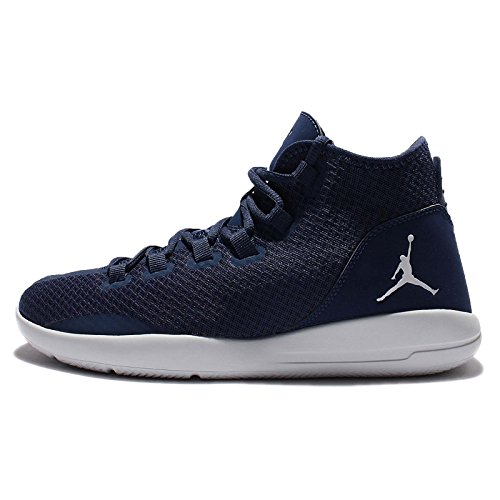 Nike Herren Jordan Reveal Sportschuhe-Basketball, Blau - Azul (Midnight Navy / Pure Platinum-Infrared 23), Gr. 44 EU