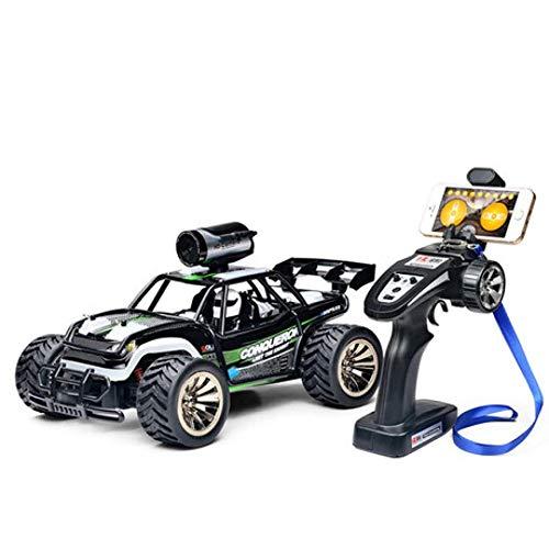 SPFTOY Hochgeschwindigkeitsfernsteuerungsauto 1/16 2.4G 2WD RC Auto-Fernsteuerungsauto 480P WiFi FPV kletterndes Auto Nicht für den Straßenverkehr Fahrzeug der Kamera RC