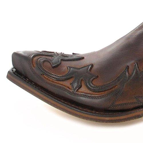 Sendra Boots Stiefel 4660 Westernstiefelette (in verschiedenen Farben) Marron Tan